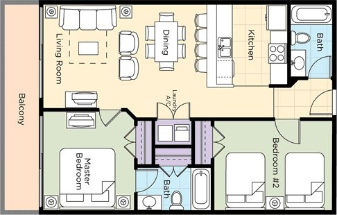 2-bedroom-deluxe-ocean-front-floor-plan
